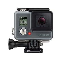 GoPro HERO+ LCD HD Waterproof Action Camera w/8MP Photo Capture Wi-Fi Bluetooth (Certified Refurbished)