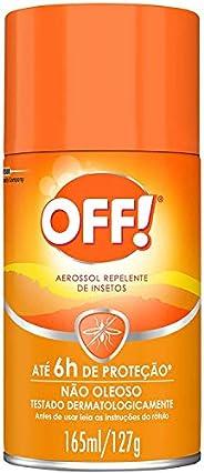 Repelente Off Family Aerossol 165ml