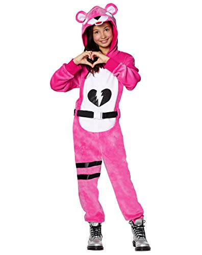 Spirit Halloween Kids Fortnite Plush Cuddle Team Leader Costume -