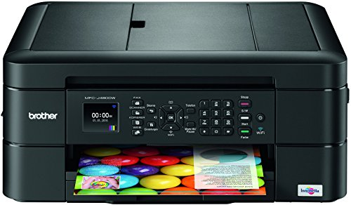 Brother MFC-J480DW - Wireless Inkjet Color All-in-One Printer w Auto Document Feeder, Amazon Dash Replenishment Enabled