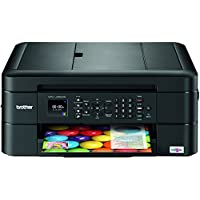 Brother MFC-J480DW Wireless Color Inkjet All-in-One Printer with Duplex (Black)