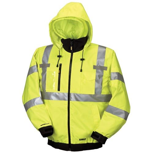 DEWALT DCHJ070B-M 20V/12V MAX Bare High-Vis Heated Jacket, High-Vis, Medium