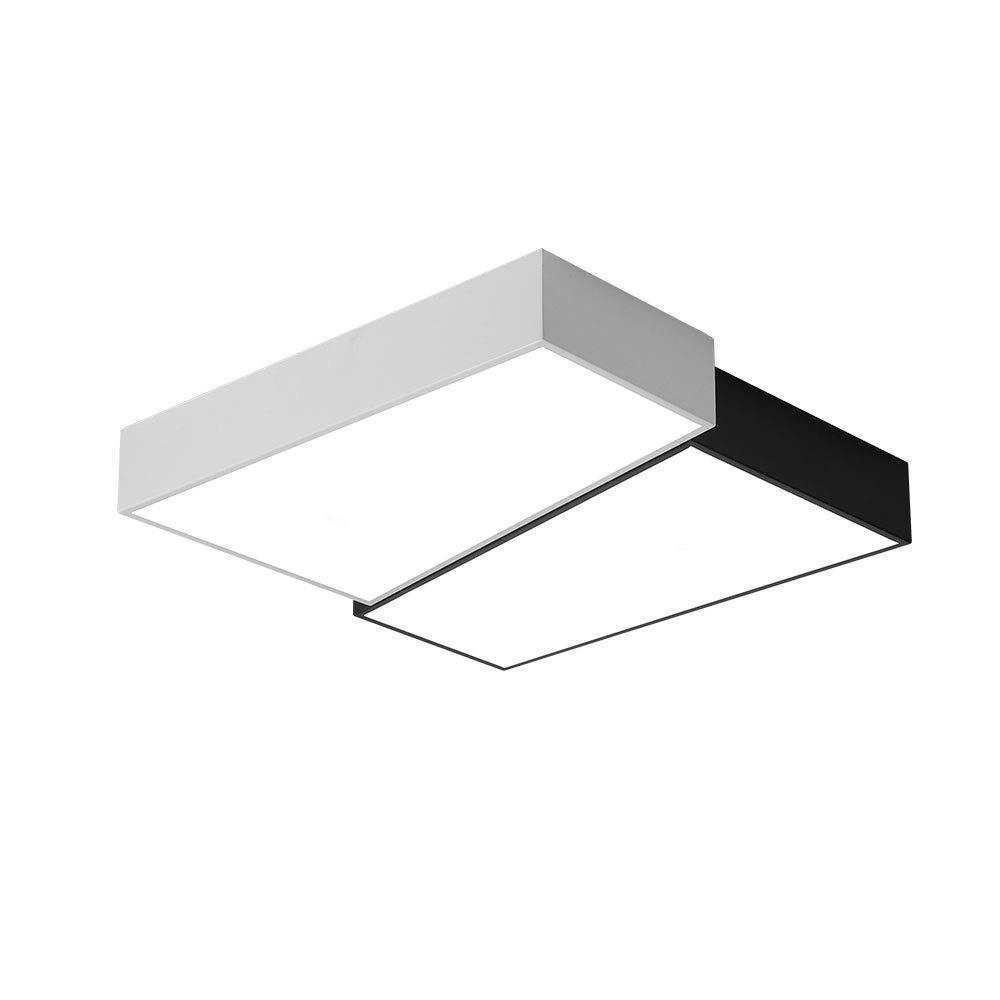 天井ランプの組み合わせモザイク寝室LED北欧リビングルームシンプルでモダンな幾何学的クリエイティブスタディアクリルブラックホワイト (Size : 15.7*15.7in) 15.7*15.7in  B07TWCP7L3