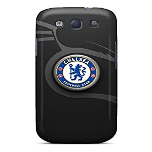 Shock Absorbent Cell-phone Hard Cover For Samsung Galaxy S3 With Unique Design Colorful Chelsea Fc Pictures JamieBratt