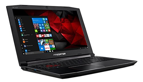 "Acer Predator Helios 300 PH315-51-53MZ - Ordenador portátil DE 15.6"" Full HD (Intel Core i5-8300H, 8 GB RAM, 1000 GB HDD, Nvidia GeForce GTX 1060, Windows 10) Negro - Teclado QWERTY Español 9"