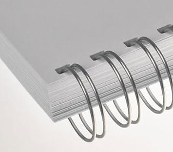 bronze ca 50 RENZ Drahtbinder/ücken 14.3 mm bis max 120 Blatt