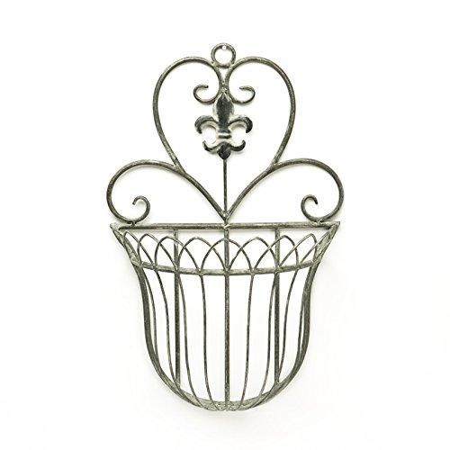 - Caffco Biltmore Inspirations Fleur De Lis Wall Basket
