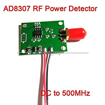 DP-iot AD8307 RF Power Detector Module DC to 500MHz Transmitter Power Test 92dbm