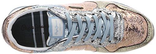 Ginnastica Donna Multicolore Cracked W Jeans Basse Da Pepe parchment Scarpe Verona qwfUA