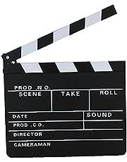 Director's Film Clapboard Cut Action Scene Clapper Board Leisteen Met Fotografie Prop Decoratie Accessoires