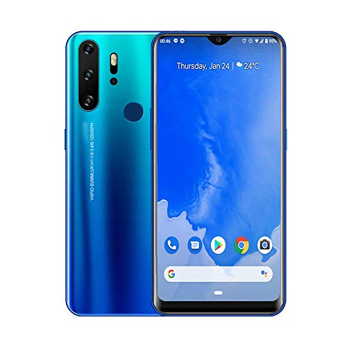Premier Gaming Smartphone, Large 6.3-in Full Face Display, 10-Core Android OS (Ocean Cyan) GSM Unlocked (Best Smartphone For Gaming)