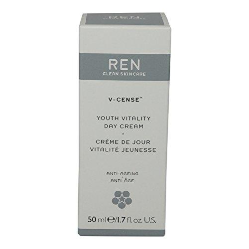 Youth Day Cream - REN V-cense Youth Vitality Day Cream, 1.7 Ounce