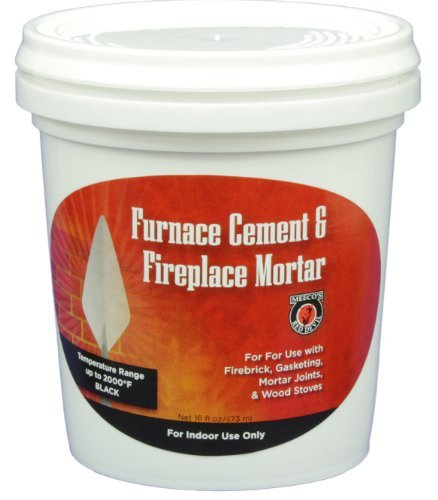 - MEECO'S RED DEVIL 1373 Furnace Cement and Fireplace Mortar
