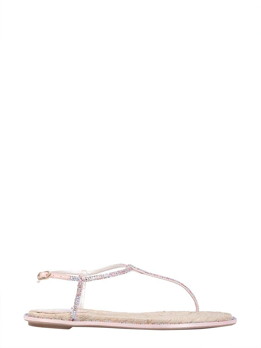 cacef51c62bd1 Amazon.com | Rene Caovilla Women's C08932010r001v835 Pink Leather ...