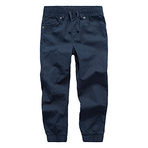 Arizona Boys Jean (Levi's Toddler Boys' Joggers, Navy, 4T)