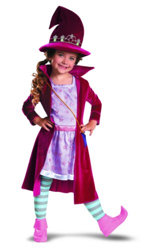 Disguise Girl's Mike The Knight Evie Deluxe Costume, 3T-4T -