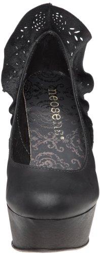 Neosens Petit Verdo 106 - Zapatos de tacón de cuero mujer negro - Schwarz (Noir (Black))