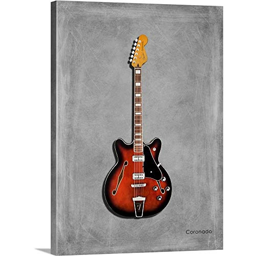 GREATBIGCANVAS Gallery-Wrapped Canvas Entitled Fender Coronado by Mark Rogan 36