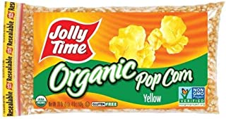 product image for JOLLY TIME Organic Yellow Kernel Popping Corn (Pack of 6)