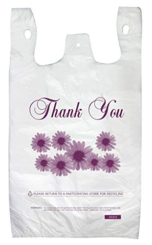 (Thank You Shopping Bags Case of 500 T-Shirt Bags 12