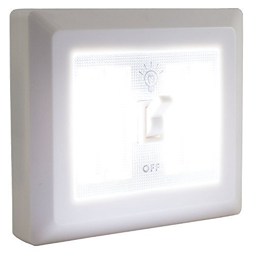 COB Promier Dual LED Wireless Night Light With Switch by Diamond Vision