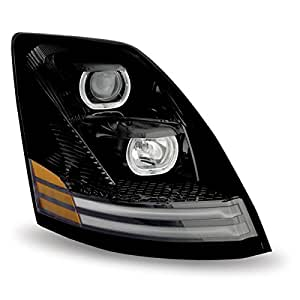 VOLVO VNL PROJECTOR HEADLIGHT SET DAYLIGHT RUNNING LIGHT ...  |Headlamp 2000 Volvo Vnl