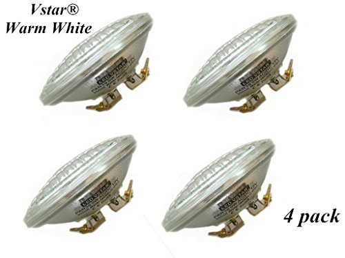 - Vstar LED PAR36 9W (Eq to 50W Halogen) 12V AC/DC Lamp Landscape Waterproof (4 Pack-Warm White)