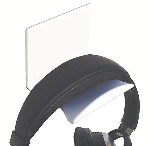 Stick On White XL Headphone Hooks 2 PACK by elhook (Image #2)