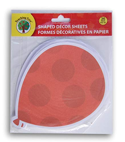 Teaching Tree Paper Shaped Decor Sheets - Balloon - 36 -