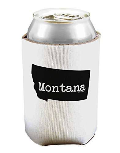 TooLoud Montana - United States Shape Can/Bottle Insulator Cooler - 2 Pack