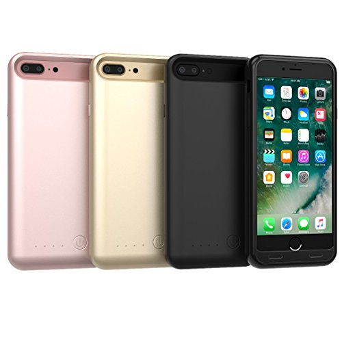 TAMO EDGE 4000 mAh Dual-Purpose Ultra-Slim Protective Extended Battery iPhone 7 Plus Case, Rose Gold (Premium Retail Packaging) by TAMO (Image #3)
