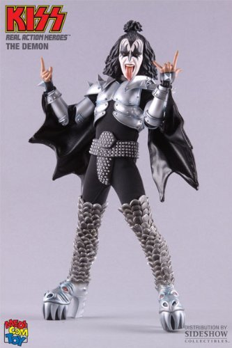 GENE SIMMONS---KISS---THE DEMON (REAL ACTION HEROES)---FIGURE (japan import) - Gene Simmons Demon Costumes