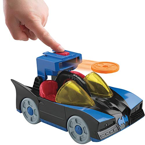 Fisher-Price Imaginext DC Super Friends, Batmobile with Lights (Fisher Price Imaginext Dc Super Friends The Batmobile)