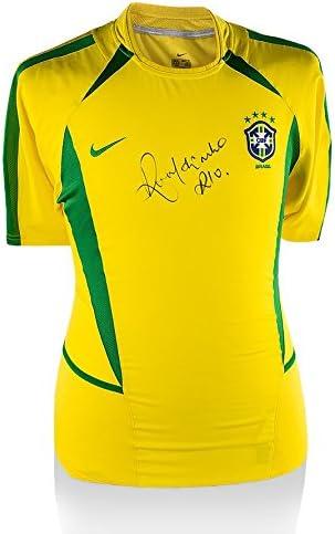 Iconos Tienda Unisex icrbrs2 Ronaldinho Frontal Firmado Brasil ...