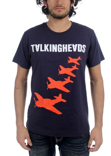 Talking Heads - Mens Planes T-Shirt in Navy ()