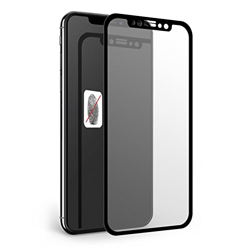 iPhone X Screen Protector, Aeetone [Full Screen] Matte Anti-Glare & Anti-Fingerprint Tempered Glass Clear Film [3D Touch ][Case Friendly] Easy Install Bubble Free for iPhone X /iPhone 10