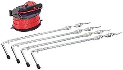 Fluke Pole Stake Kit, For Fluke 1623 and 1625 Earth Ground Testers