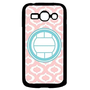 Love Poodles Baby Pink Stripes Circle Hipster Samsung Galaxy Ace 3 i7272 Case - Fits Samsung Galaxy Ace 3 i7272