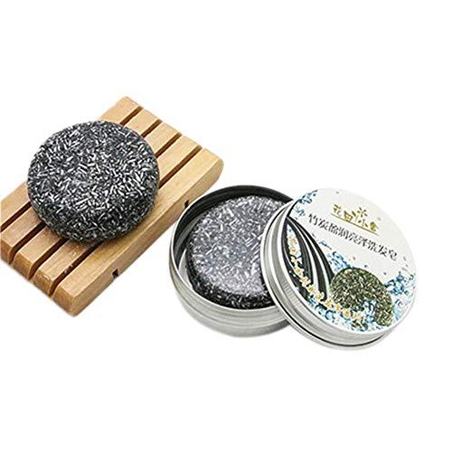 Shampoo Cinnamon Moisturizing - J-Cooper Hair Care Lavender Plant Essential Oil Shampoo Bar for Oily Scalp, Hair Fragile (Aluminum Box Packaging)
