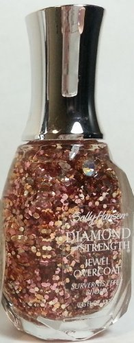 Sally Hansen Diamond Strength Jewel Overcoat Nail Polish, #501 Ring-a-Ding! (Diamond Rings For Nails)