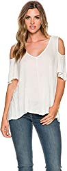 Free People Womens S Ivory