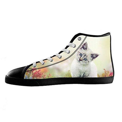 Custom Gatti di pittura Womens Canvas shoes I lacci delle scarpe scarpe scarpe da ginnastica Alto tetto Genuina En Venta Explorar Barato En Línea Venta Barata Barata Bajo Precio Barato Tarifa De Envío 0n1QKMjIL