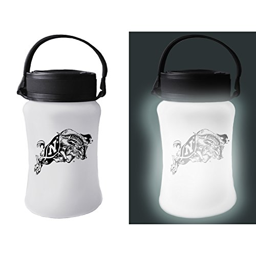 Team Sports America US Naval Academy Outdoor Safe Silicone Solar Powered Tailgate Lantern