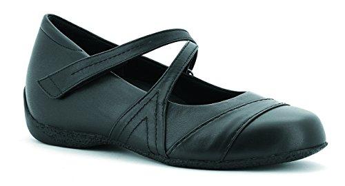 Ziera Women's Xray Black Flat 45 XW (Ziera Shoes)