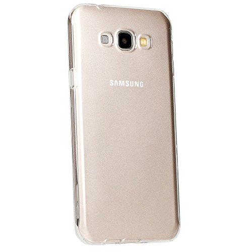 TPU Jelly Case for Samsung Galaxy A8 (Black) - 2