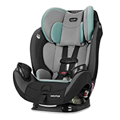 The EveryStage LX is a rear-facing harness, forward-facing harness, and belt-positioning booster that provides a safe and secure ride for children up to 120 pounds. The Evenflo all-in-one car seat has been developed from the input of parents ...