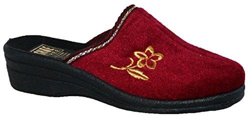 Shoe Tree - Zapatillas de estar por casa de Material Sintético para mujer Morado - granate