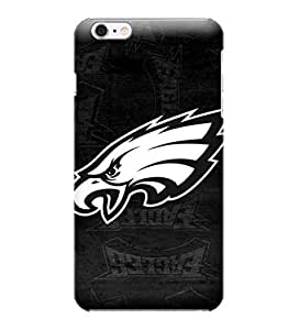 SOKY(TM) iPhone 6 Cases, NFL - Philadelphia Eagles Black & White - iPhone 6 4.7 inch Cases - High Quality PC Case