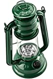 SE FL805-15G 15-LED Green Hurricane Lantern with Dimmer Switch