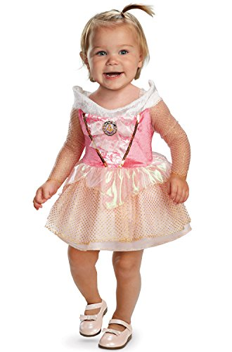 [AURORA INFANT Costume(Size:12-18M)] (Toddler And Girls Aurora Princess Costumes)